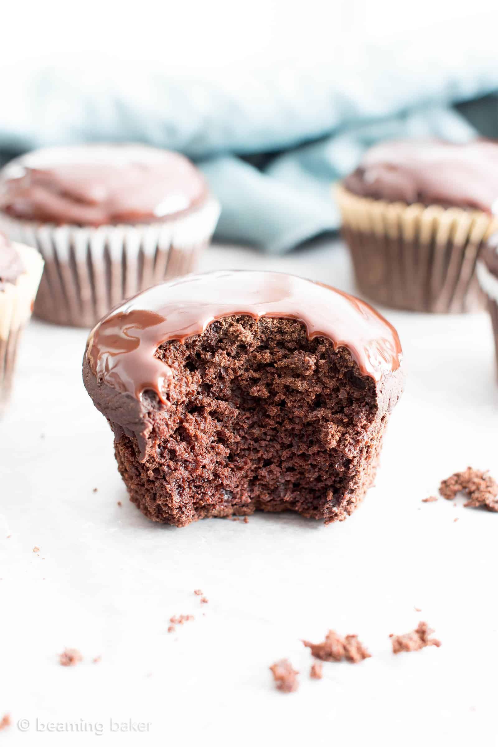 Chocolate Ganache Cupcakes V Gf An Easy Recipe For
