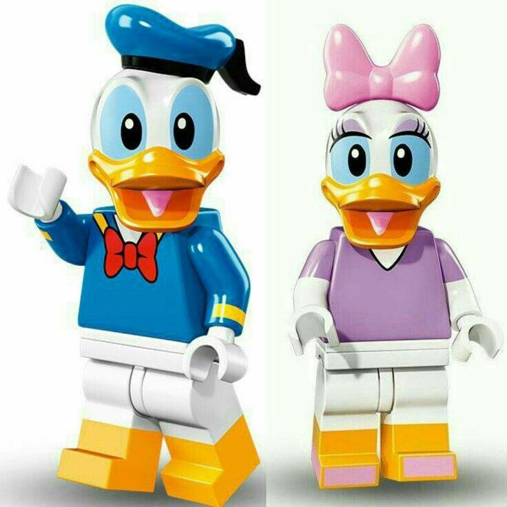 LEGO Minifigure DISNEY **DAISY DUCK** 71012