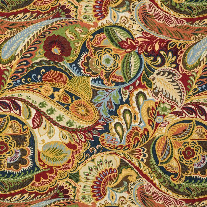 Chameleon Giverny Home Decor Fabric