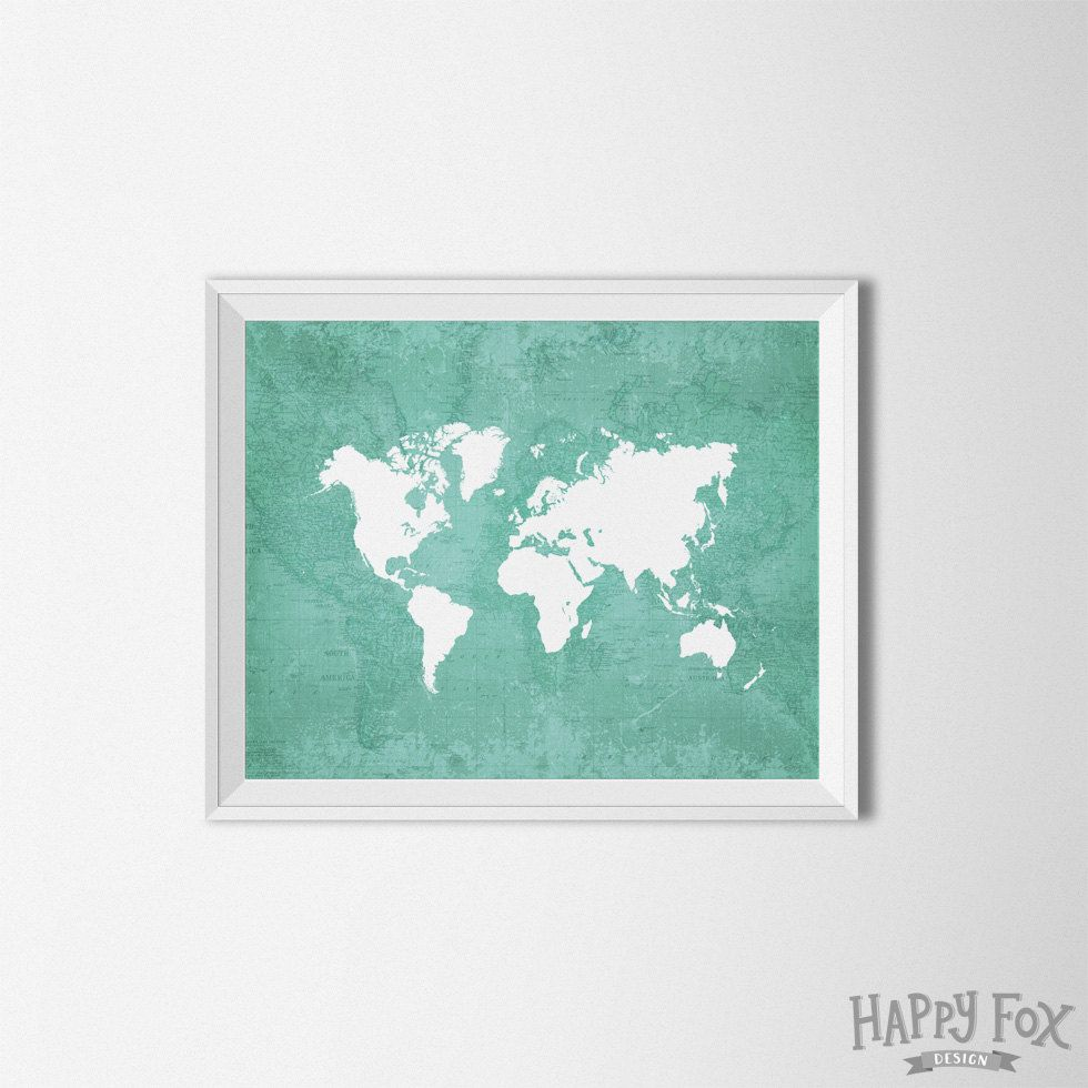 gold world collection stencil decor solutions with art foil map additional of wall