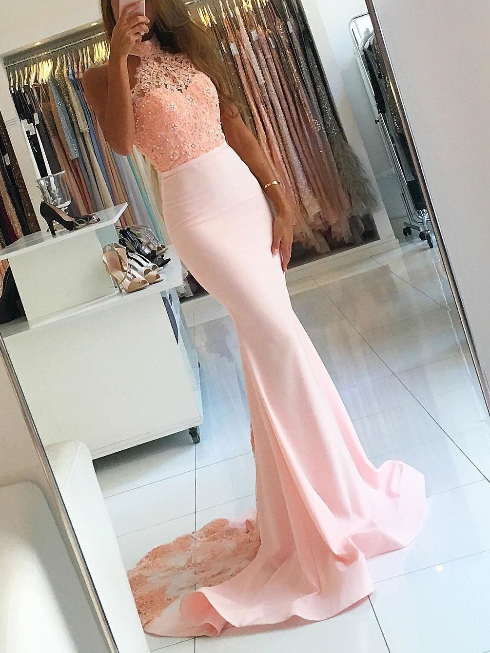 Customized admirable long prom dresses prom dresses mermaid in