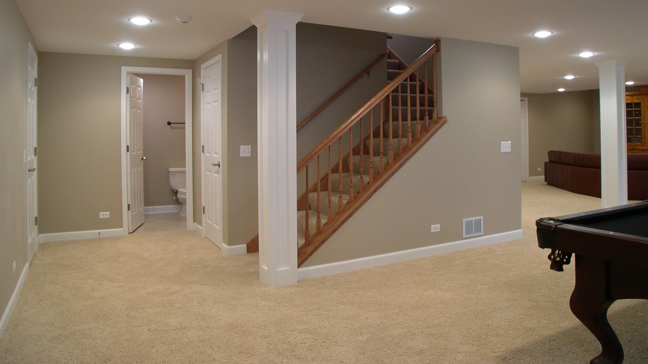 Basement Stairs Ideas: Basement Stairs... I Wonder If This Is Possible With Ours
