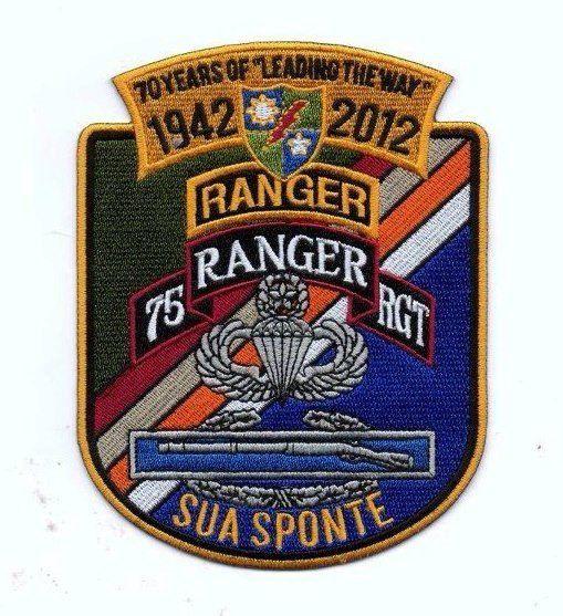 United States RangerAirborne 75th Regiment  Patch