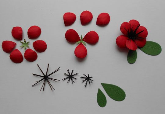 "Today I have designed a black and white card with a red focal point.  The flower dies I used are the Cheery Lynn ""Pulmeria"" (B 134) .  ..."