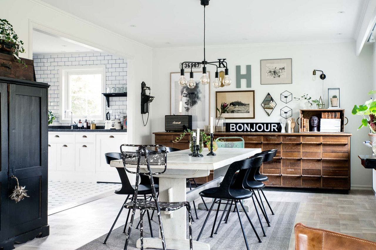 How To Combine Scandinavian With Industrial Styles Design Districtdesign District Scandinavian Dining Room Dining Room Design Dining Room Industrial