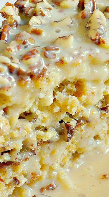 Kürbis-Pralinen-Kuchen #pralinecake