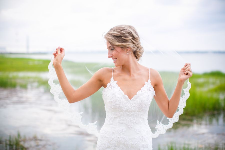 Southern Weddings - Downtown Charleston Bridals via @dcubbagephoto