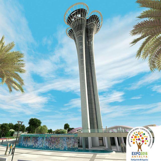Expo 2016 Antalya BLOG: Last news from Expo Tower... last design...