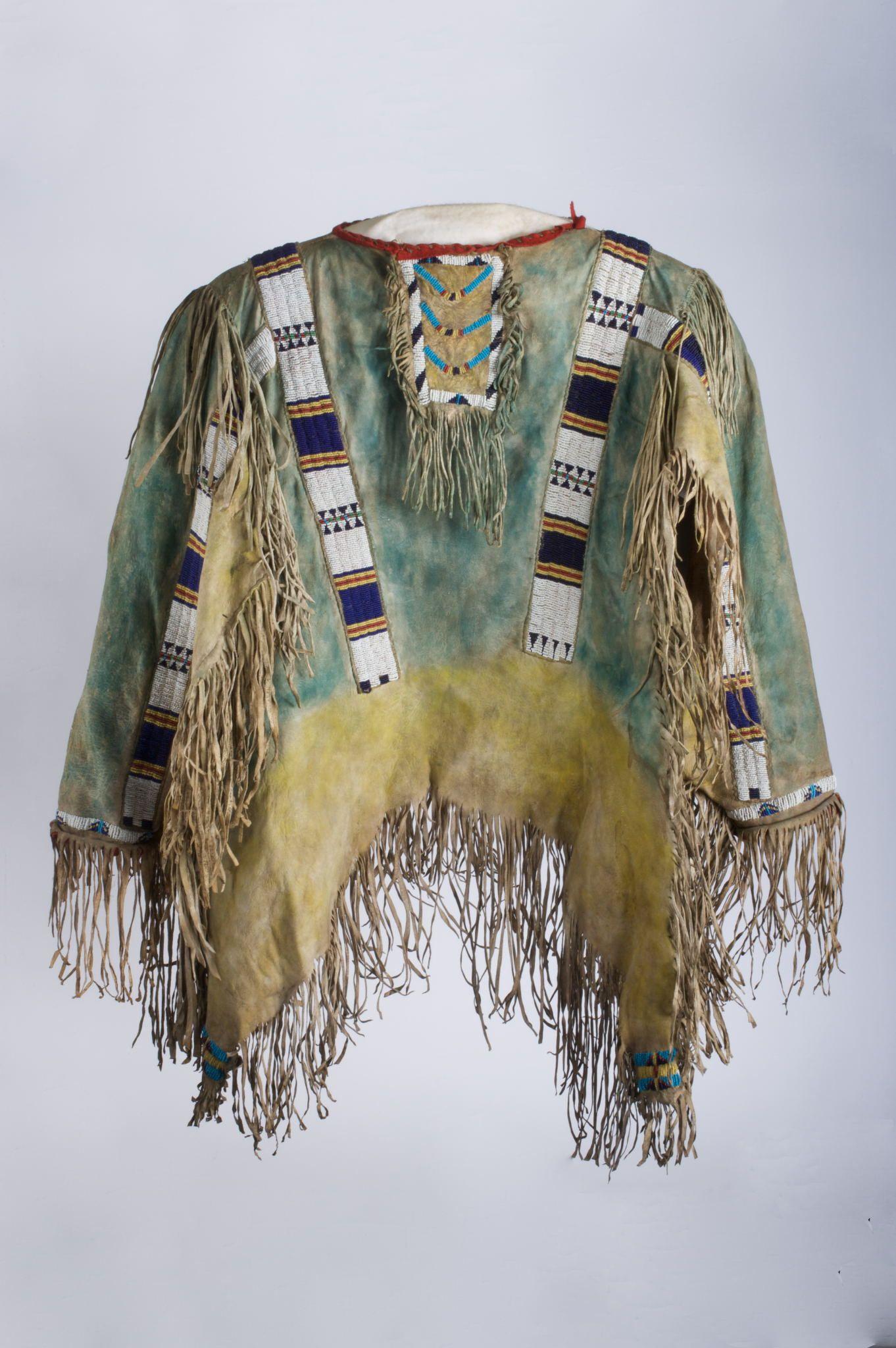 Plains Sioux War Shirt Circa Berkshire Museum