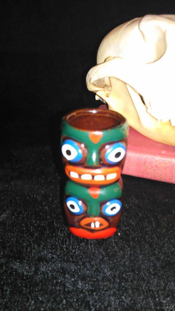 Kitschy Toothpick Holder Totem Pole Made In Japan Vintage Native American  Kitchen Decor Northwest Decor Free