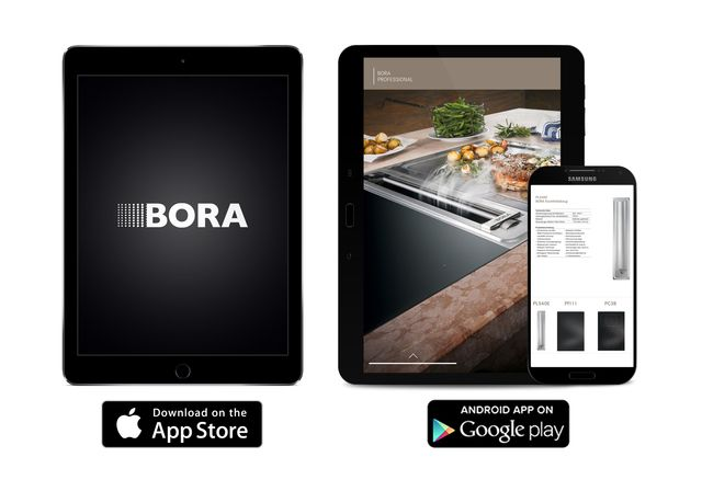Now available on the App-Store: The BORA App.   Experience the innovative product lines BORA Professional, BORA Classic and BORA Basic in an interactive and multimedia surrounding. Find out everything about the company BORA, its new engagement in cycling and follow team BORA - Argon 18 on its rise to world leaders.   Available on the App-Store:  Download link for Apple iOS (iPad only) -  http://bit.ly/BORA_iOS_EN Download link for Android devices -   http://bit.ly/BORA_Android