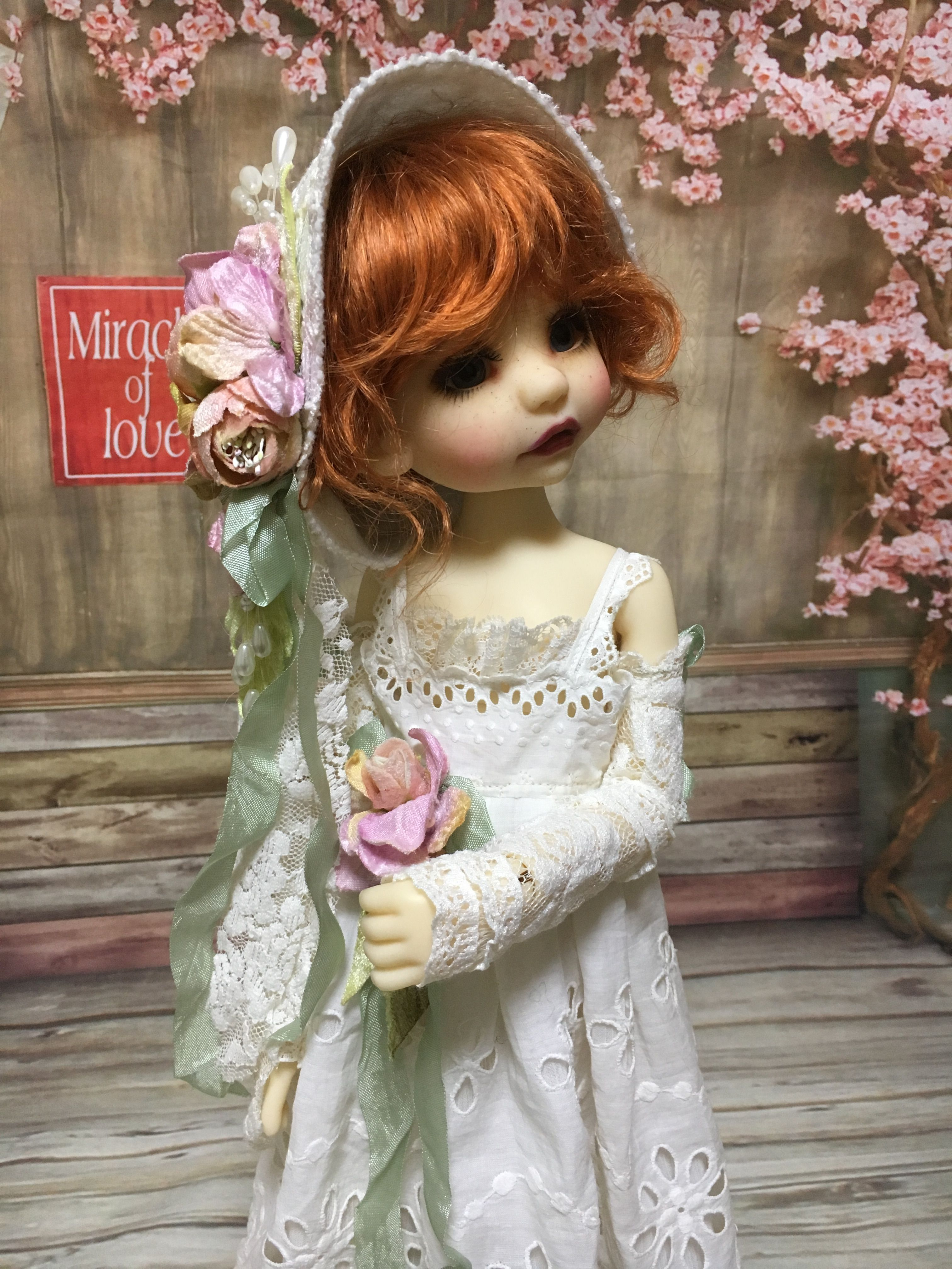 Bea by doll artist Tracy Promber