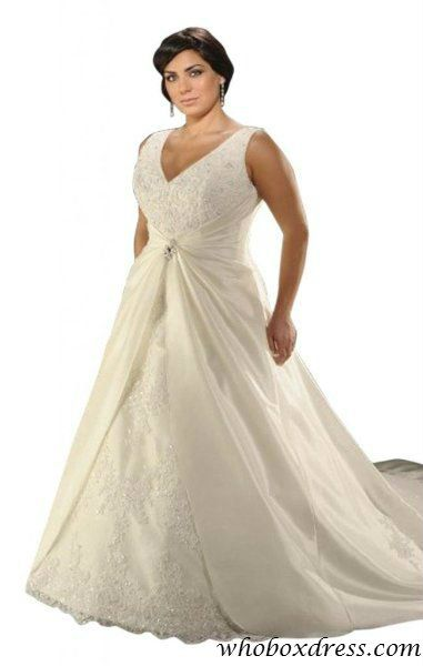 plus size wedding dress | Wedding. | Pinterest | Wedding dress ...