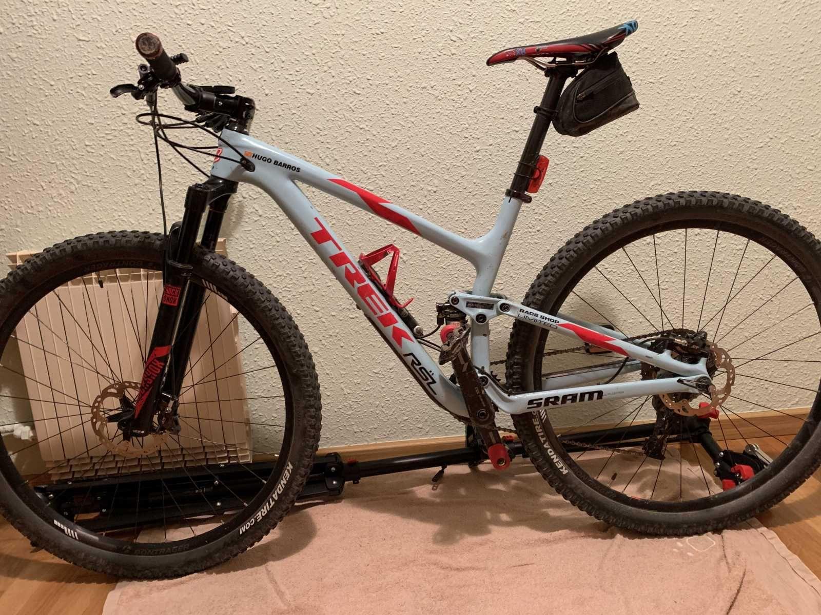 Bicicleta De Montaña Trek Top Fuel Ref 43790 Talla M Año 2016 Cambio Sram X0 Cuadro De Carbono Suspensión Dobl Bicicletas Bicicletas Trek Bicicletas Mtb