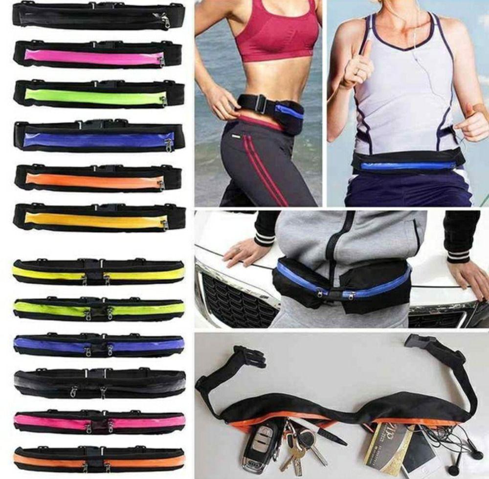 Sports Travel Bum Bag Waist Belt Unisex Running Jogging Phone Keys Mobile Money