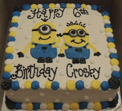 Minion theme Birthday cake Want the best birthday cake for your