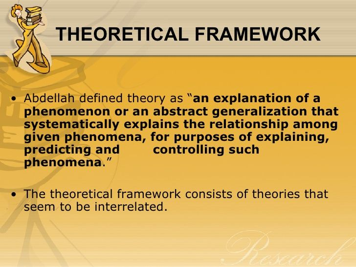 Master thesis conceptual framework