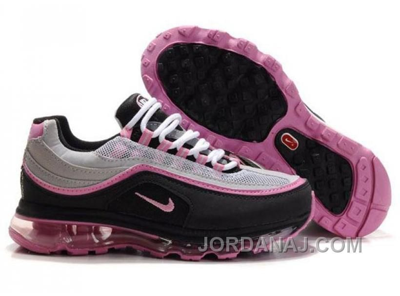 big sale 80143 ff1fe WOMENS NIKE AIR MAX 24-7 GREY BLACK PINK AMFW0308 Only  84.00 , Free  Shipping!