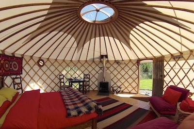 Family C&ing u0026 Yurt Gl&ing Holidays in Pembrokeshire & Family Camping u0026 Yurt Glamping Holidays in Pembrokeshire | Places ...
