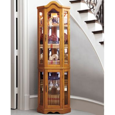 Country Corner Curio Storage Cabinet - JCPenney | Furniture ...