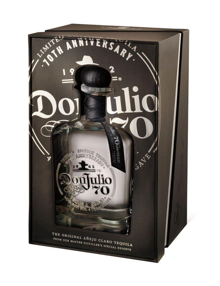 Don Julio Branding Tequila Bottles Packaging Design Tequila