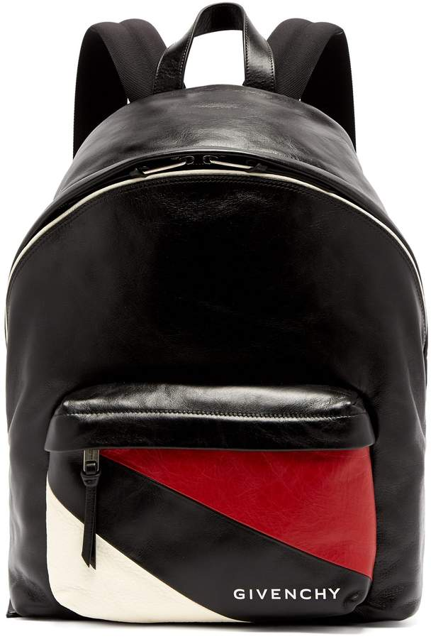 299a5ea98b Urban striped-pocket leather backpack  Crafted backpack Urban ...