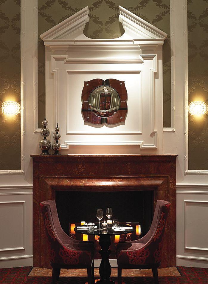Interior Architecture · Fireside Tables. 10 Arts By Eric Ripert, The  Ritz Carlton Philadelphia. EDG