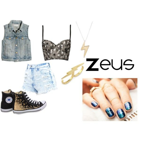"""Zeus"" by m-lena-ferraz on Polyvore"