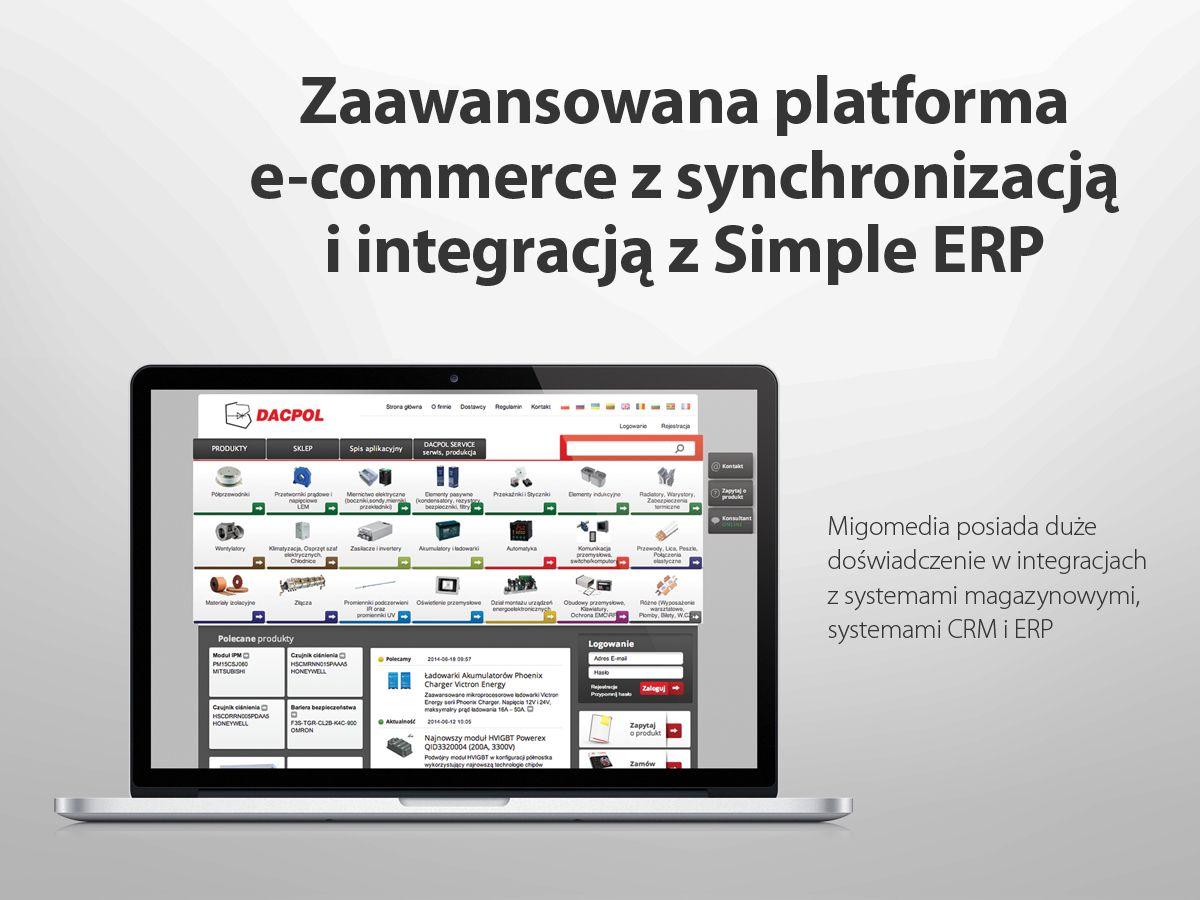 Dacpol Zaawansowana Platforma E Commerce Z Synchronizacja I Integracja Z Simple Erp Periodic Table