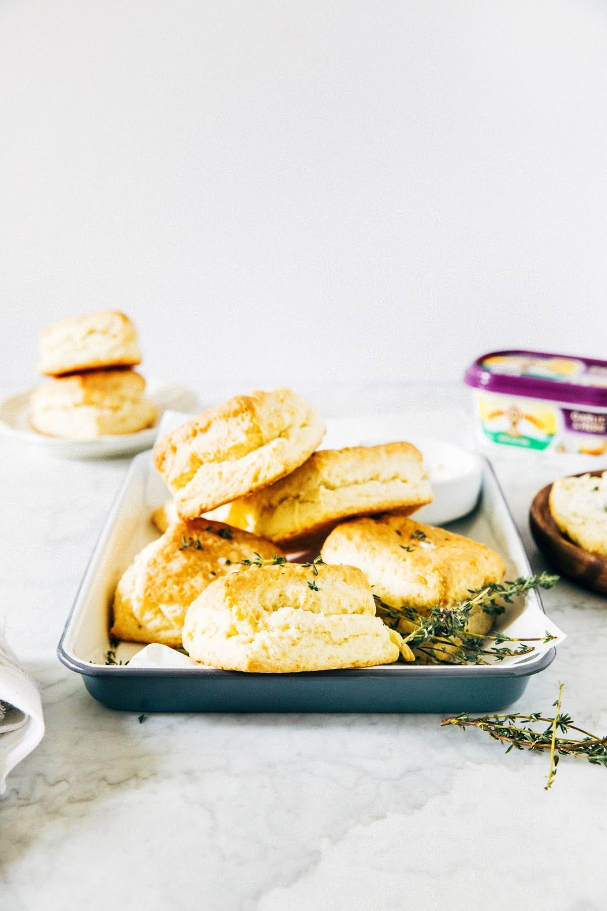 Garlic And Herb Buttermilk Biscuits Or How I Learned To Stop Worrying And Love The Biscuit Buttermilk Biscuits Biscuits Food
