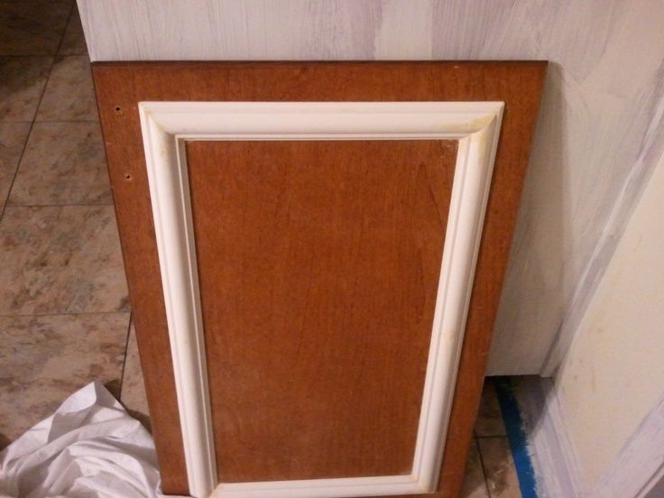 Adding Trim To Existing Plain Kitchen Cabinet Doors This Is My With Images Cabinet Door Makeover Diy Kitchen Cabinets Makeover Cabinet Makeover Diy