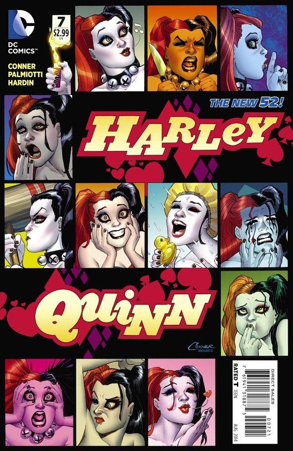 #Harley #Quinn #DC #Comics #New #52