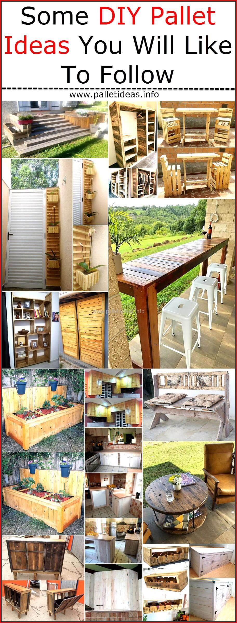 some diy pallet ideas you will like to follow pallet on inventive ideas to utilize reclaimed wood pallet projects all you must to know id=80741
