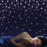 http://ift.tt/1gYqVbR Wandtattoo: Sternenhimmel 100 Sterne  fluoreszierend (leuchten im Dunklen)