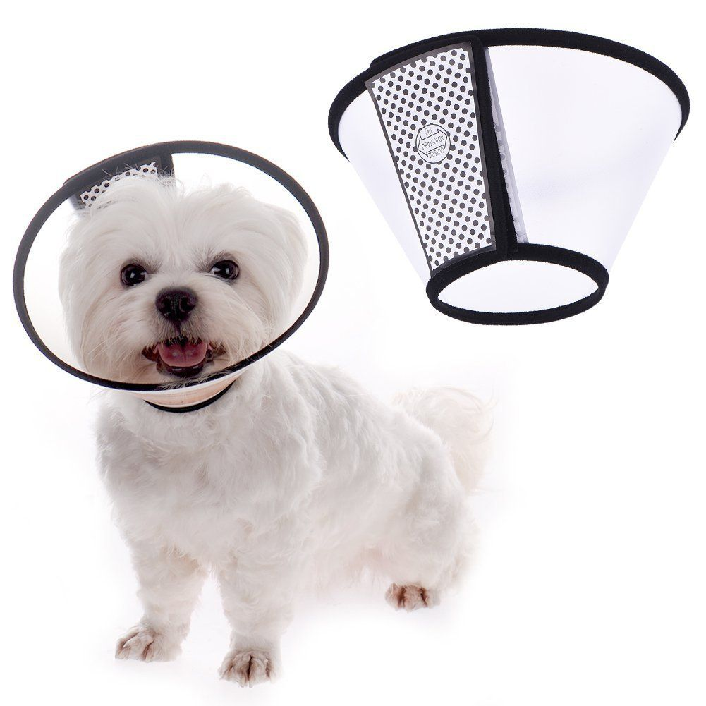 Sundlight Soft Pet Comfy Collar Cat Dog Cone Collar For Protection