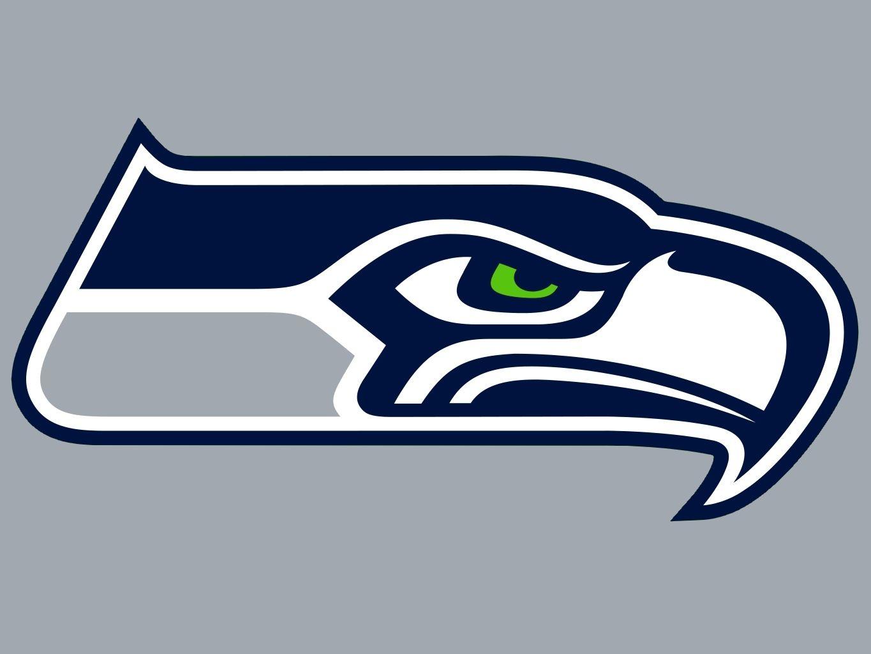 The Seattle Seahawks logo is asymmetrical, so it is
