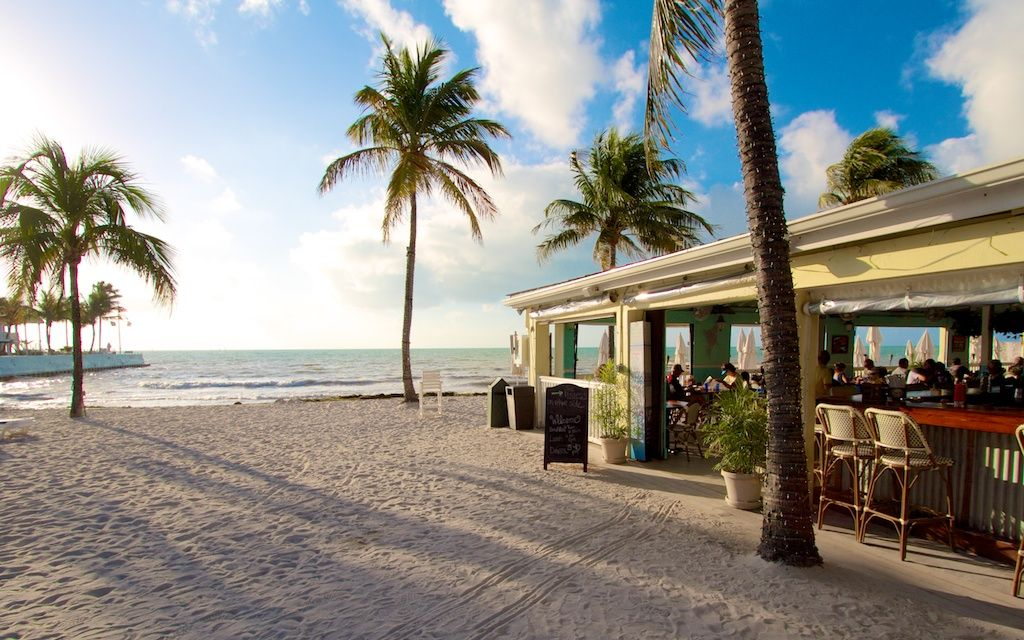 Southernmost Beach Cafe And South A Public Key West That Guests Of The Hotel Collection Frequent Can Use Chairs At