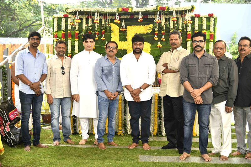 Megastar Chiranjeevi's New film gets Launched