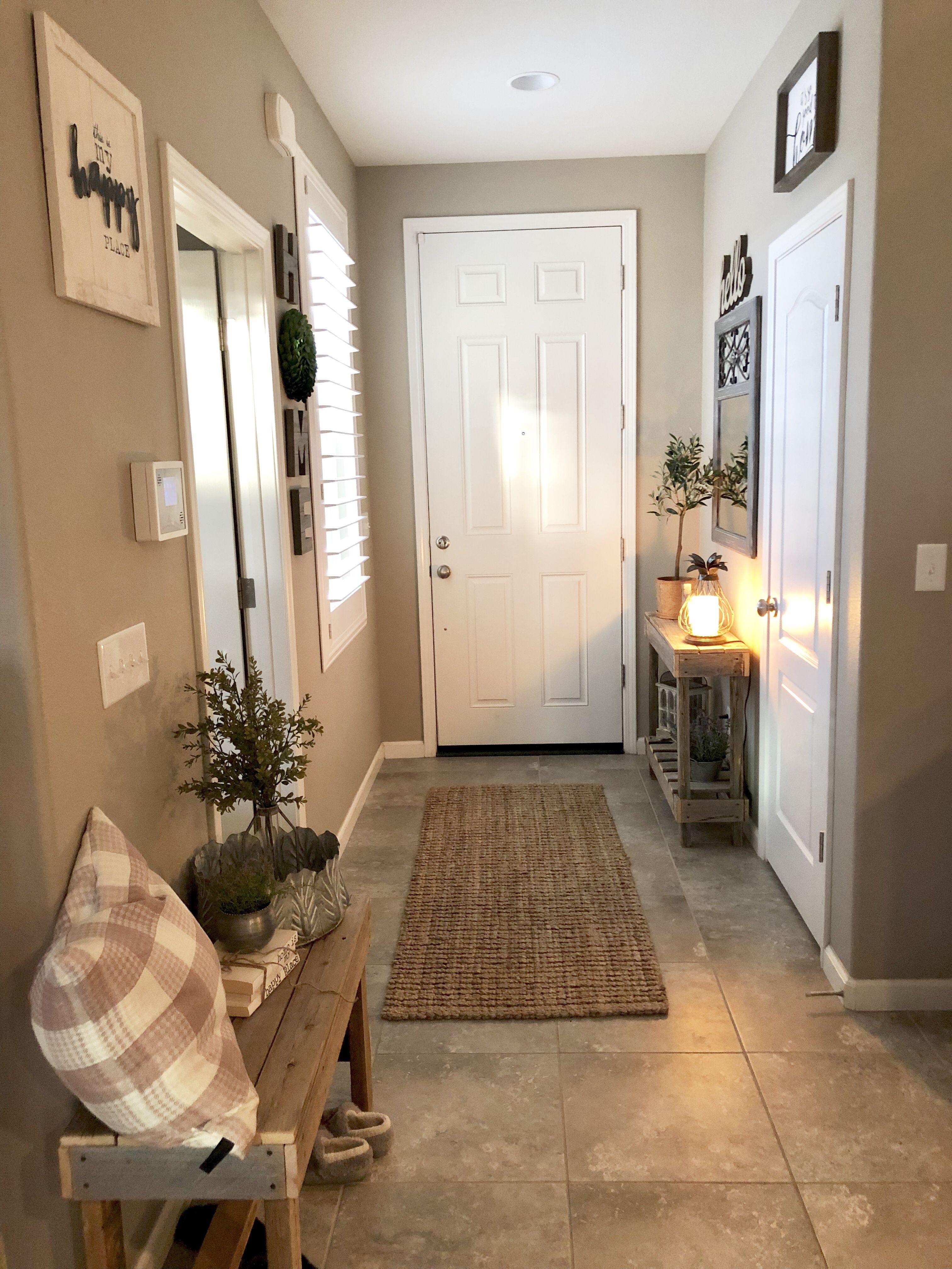 Narrow Entryway Entryway Decor Small Small Entryways Apartment Entryway
