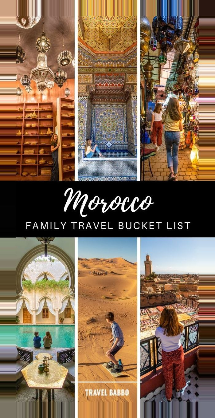 #Kids #morocco #Week #winter break bucket list kids One Week in Morocco with Kids Morocco is amazing, and it's even possible to visit during a one-w…