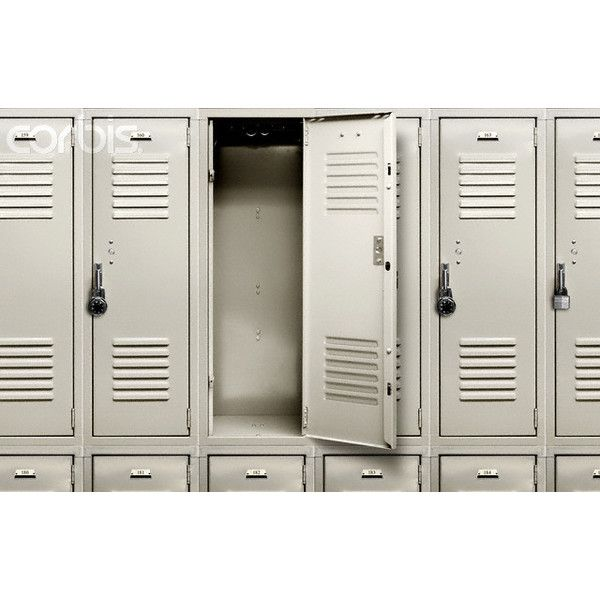 One Open Locker Liked On Polyvore Featuring Backgrounds School Pictures Lockers And Fillers