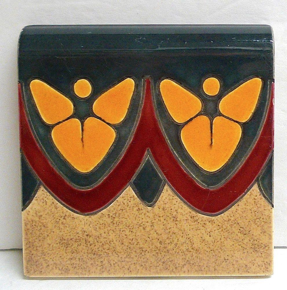 Bull Nose Border Tile from American Encaustic