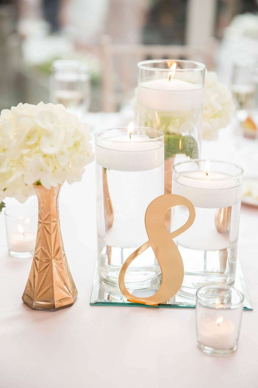 Acrylic Table Numbers for Weddings and Events - Standing Numbers ...