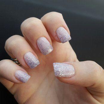 Acrylic Nails Glitter Ombre Google Search