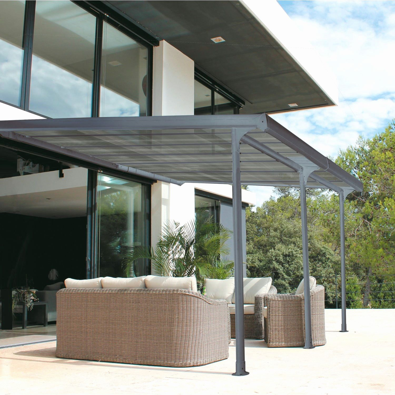 Inspirational Pergola Bioclimatique En Kit Leroy Merlin Pergola Backyard Pergola Pergola Shade