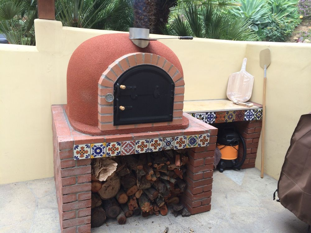 Outdoor Pizza Oven Wood Fired 39x39 Made In Portugal