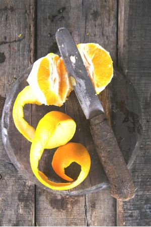 Quick Tip A Sweet In A Pinch Kindling Substitute Dried Orange
