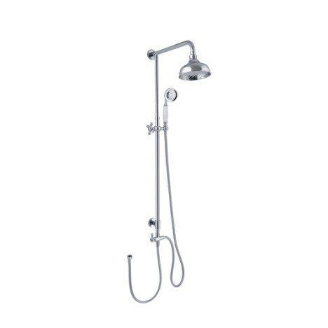 colonne de douche sans robinetterie, sensea retro | salle de bains