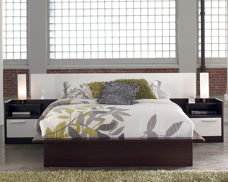 . platform beds   Chicago Furniture Store   Modern Platform Bed with