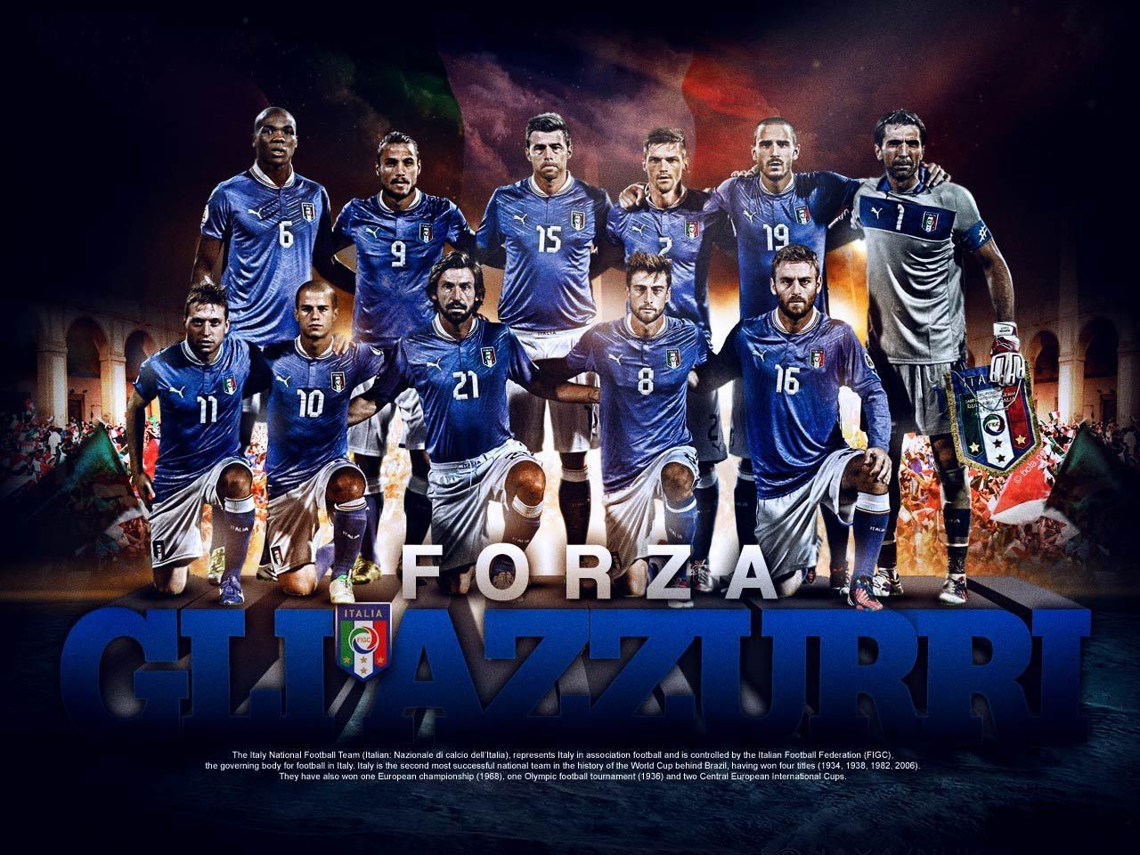 Teams Soccer Wallpaper Backgrounds | Italy Soccer Team Wallpapers | HD Wallpapers Fit ...